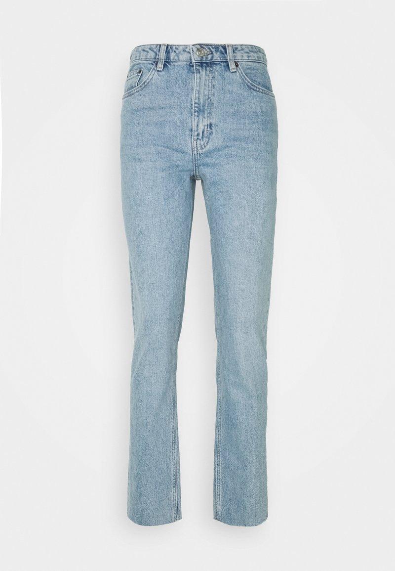 Topshop Tall - Straight leg jeans - bleach