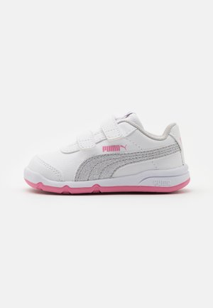 STEPFLEEX 2 UNISEX - Sports shoes - white/silver/sachet pink