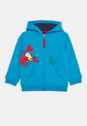 LUCAS LOBSTER ZIP UP HOODED JUMPER - Sweatjacke - motosu blue
