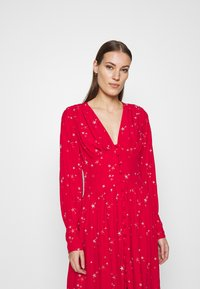 Ghost - CORA DRESS - Vestito estivo - red - 3