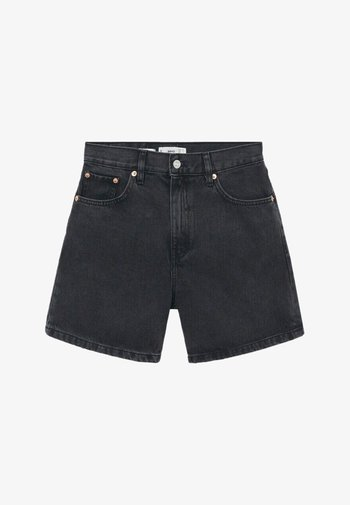 Szorty jeansowe - black denim