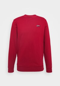 Tommy Jeans - TJM WASHED CORP LOGO CREW - Sweatshirt - wine red - 3
