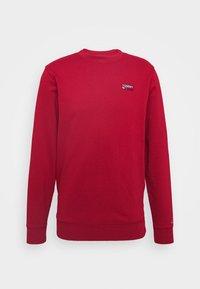 TJM WASHED CORP LOGO CREW - Sweatshirt - wine red