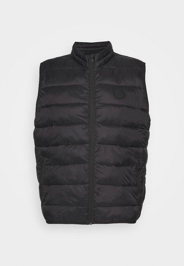 JJEMAGIC - Waistcoat - black