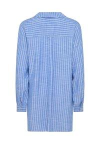 Live Unlimited London - Button-down blouse - blue - 2