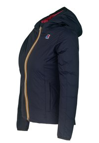 K-Way - THERMO PLUS. 2 DOUBLE - Down jacket - blue maritime-red claret - 1