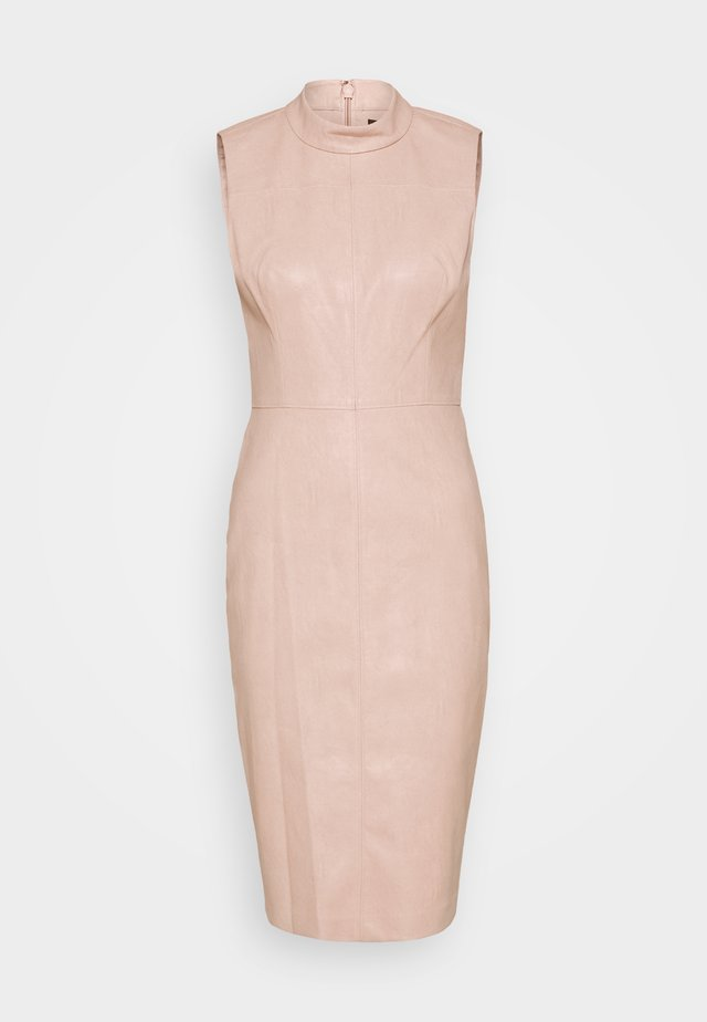 SLVLESS DRESS - Cocktailjurk - bare pink