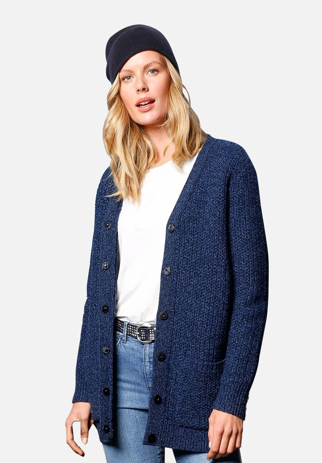 Vest - jeansblau-melange