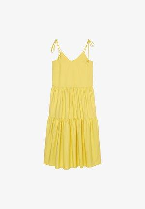 Day dress - dusty lemon