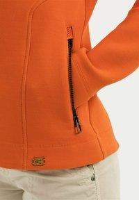 camel active - SCUBA - Zip-up hoodie - orange - 4