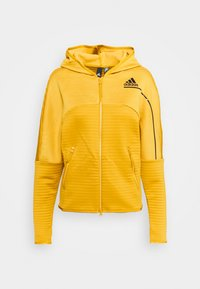 adidas Performance - W ZNE A H C.RDY - Sports jacket - leg gold - 5