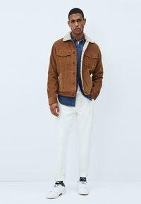 Pepe Jeans - PINNER DLX - Winterjas - marrón tan - 1