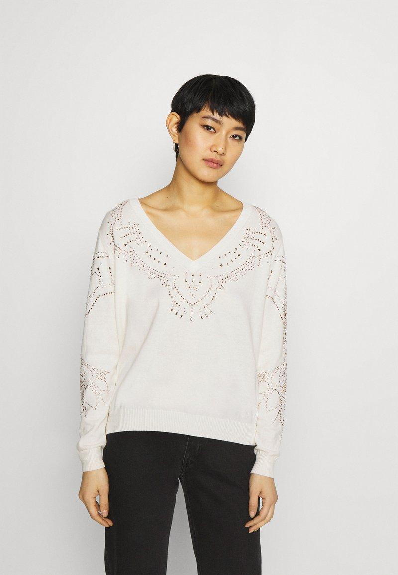 Desigual - GANTE - Pullover - white