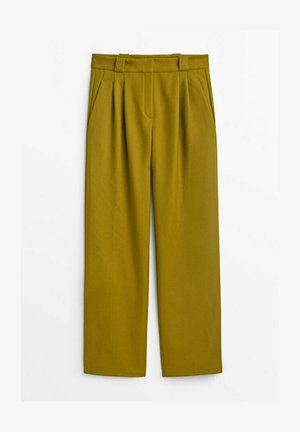 Spodnie materiałowe - light green