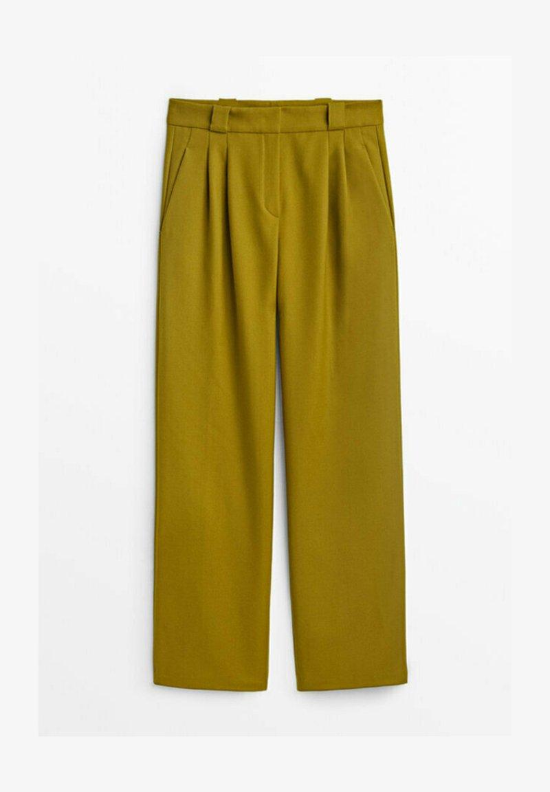 Massimo Dutti - Trousers - light green
