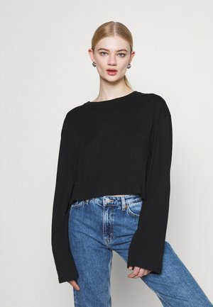 SMASH LONG SLEEVE - Langærmede T-shirts - black