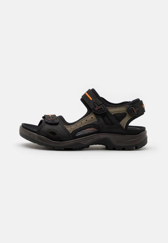 OFFROAD - Sandales de randonnée - black/mole