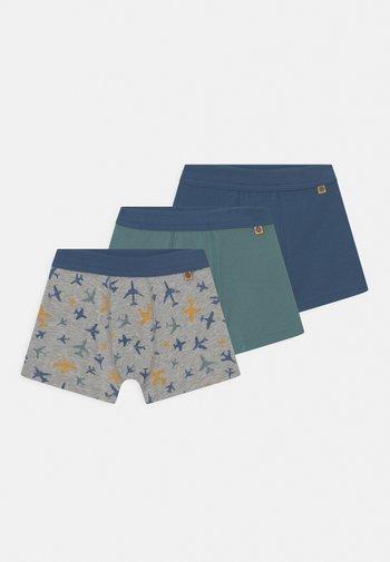 3 PACK - Pants - metallic melange