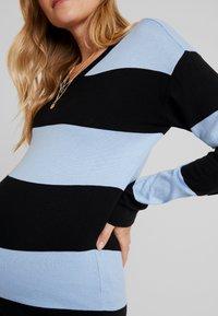 Supermom - DRESS STRIPE - Jumper dress - placid blue - 6