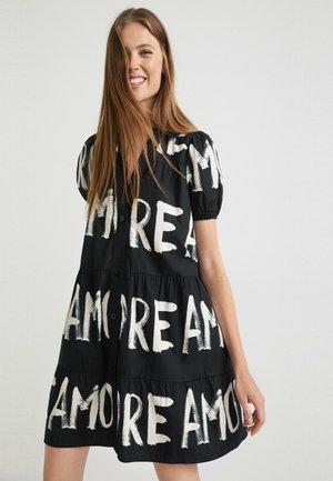 BRIXTON - Shirt dress - black