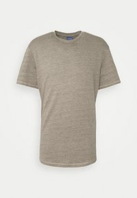 Jack & Jones - JORDARKNESS TEE CREW NECK - T-shirt basic - crockery - 3