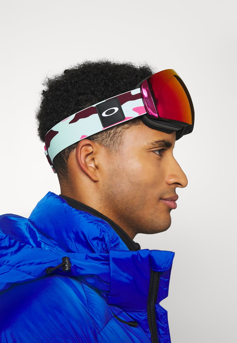 Oakley - FLIGHT DECK XM UNISEX - Gogle narciarskie - prizm snow/hi pink