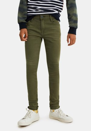 Jeans Skinny Fit - army green