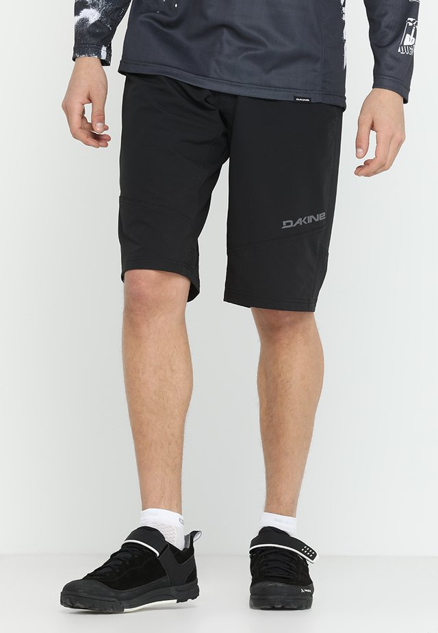 DROPOUT SHORT - Korte broeken - black