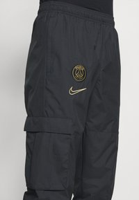 Nike Performance - PARIS ST GERMAIN PANT - Club wear - black/truly gold - 5