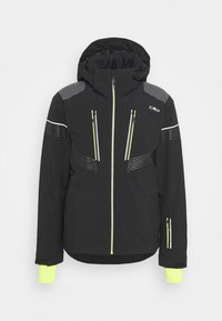 CMP - MAN JACKET ZIP HOOD - Ski jacket - nero - 0