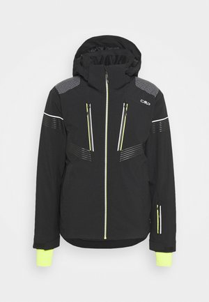 MAN JACKET ZIP HOOD - Ski jacket - nero