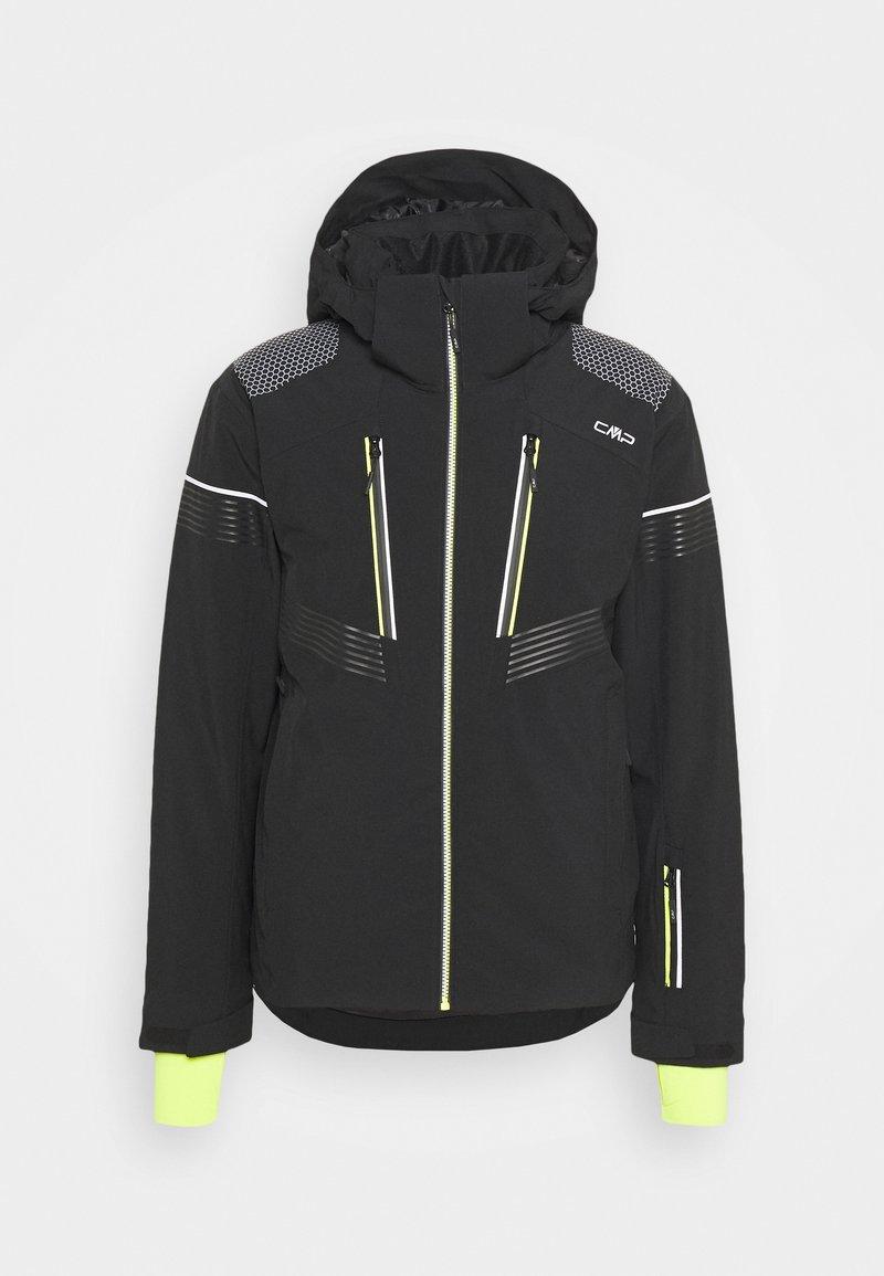 CMP - MAN JACKET ZIP HOOD - Ski jacket - nero