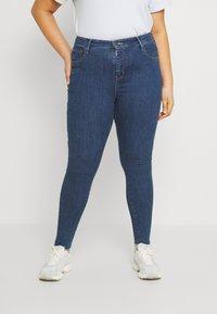 Levi's® Plus - 720 PL HIRISE SUPER SKNY - Jeans Skinny Fit - echo stonewash plus - 0