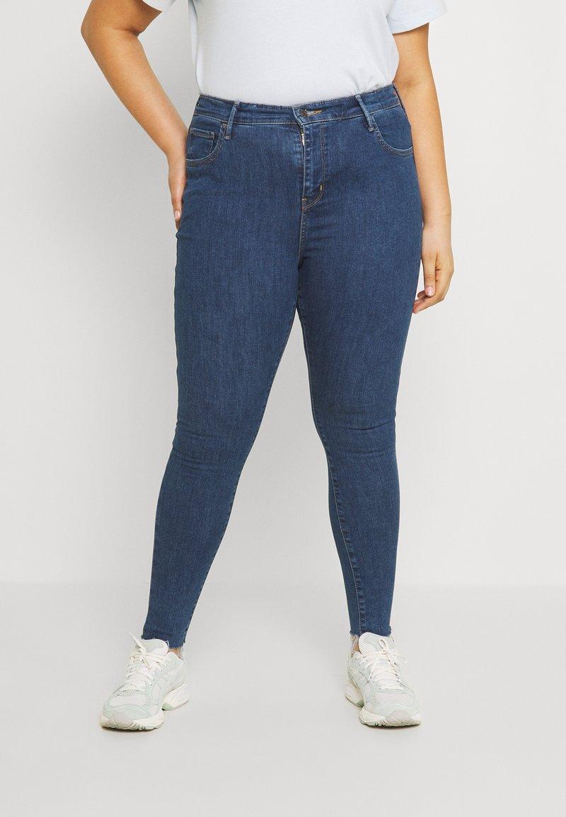Levi's® Plus - 720 PL HIRISE SUPER SKNY - Jeans Skinny Fit - echo stonewash plus