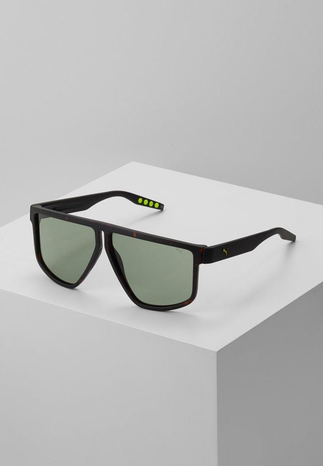 Sunglasses - havana/black/green