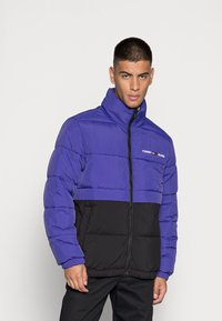Tommy Jeans - REVERSIBLE PUFFER JACKET - Talvejope - court blue/multi - 0