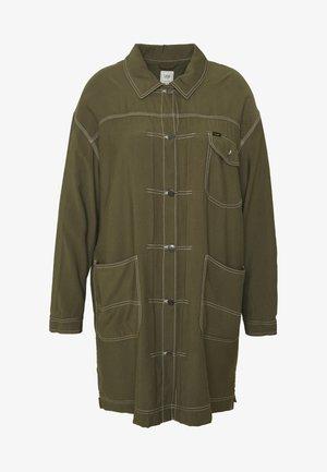 ELONGATED DUSTER COAT - Krátký kabát - olive green