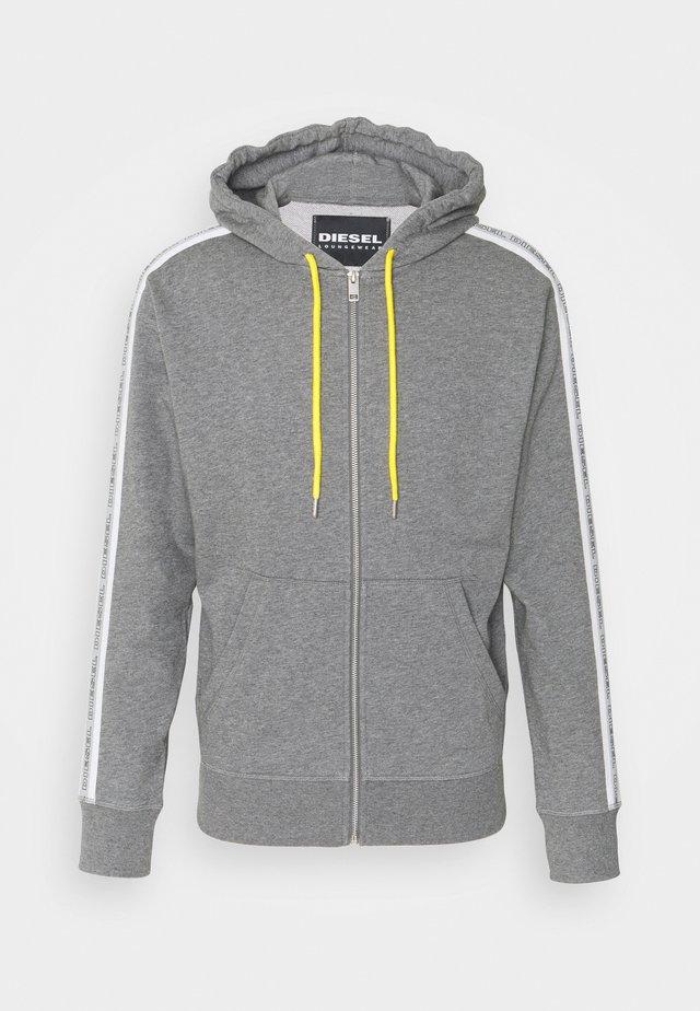 BRANDON - Hoodie - dark grey melange
