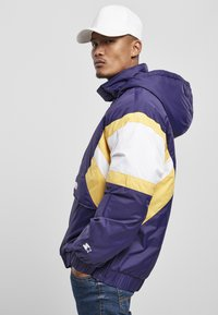 Starter - Winter jacket - starter purple/wht/buff yellow - 2