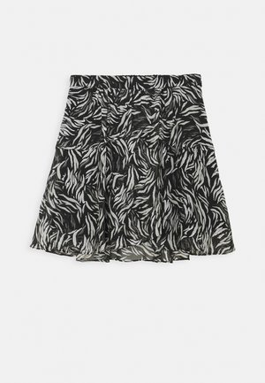 SKIRT - Minijupe - black/white