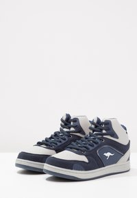 KangaROOS - K-BASKLED II - High-top trainers - blue/vapor grey - 2
