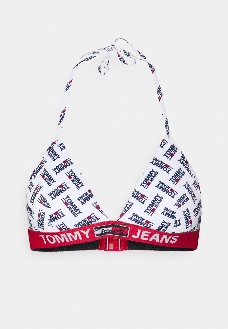 Tommy Hilfiger - TRIANGLE FIXED - Bikini top - white