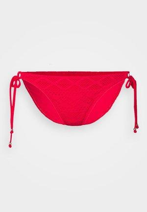 SUNDANCE TIE SIDE BRIEF - Bikini bottoms - red