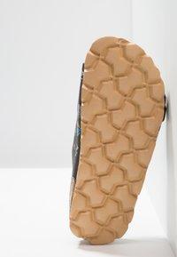 Superfit - FUSSBETTPANTOFFEL - Domácí obuv - stone/multicolor - 4