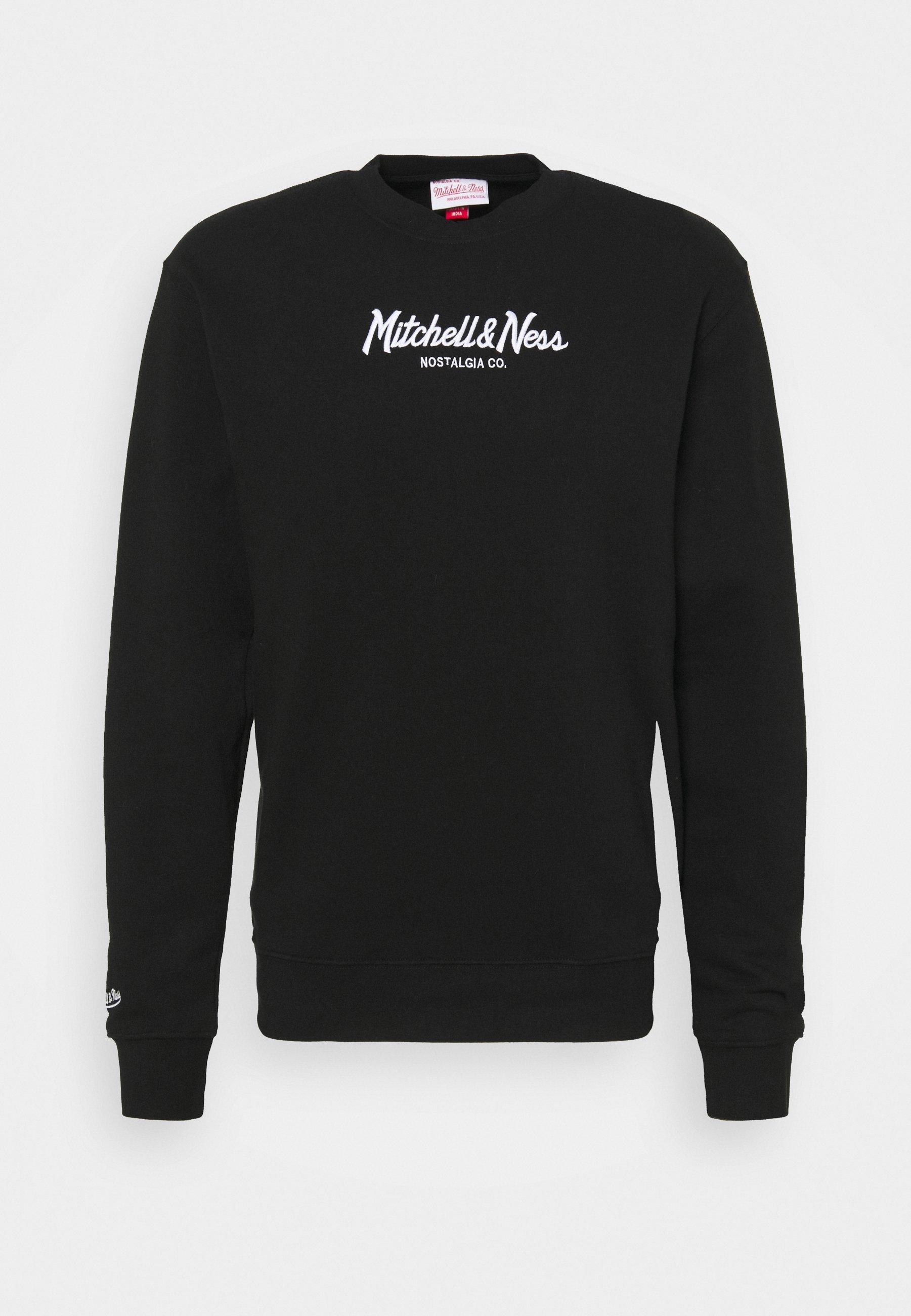 Homme BRANDED PINSCRIPT CREW - Sweatshirt