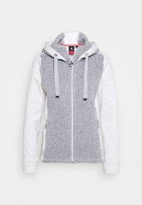 Luhta - ERSTBACKA - Fleece jacket - light grey - 0