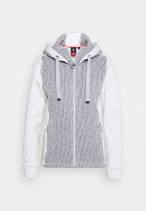 ERSTBACKA - Fleecejacke - light grey