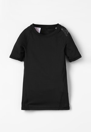 ALPHASKIN TEE - Print T-shirt - black
