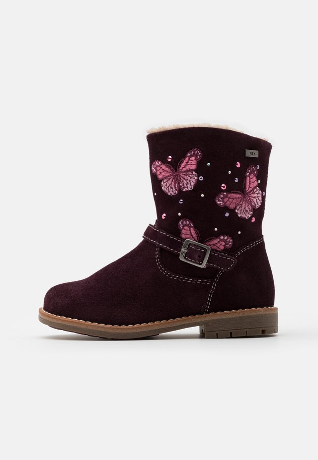 FIBY TEX - Bottines - burgundy