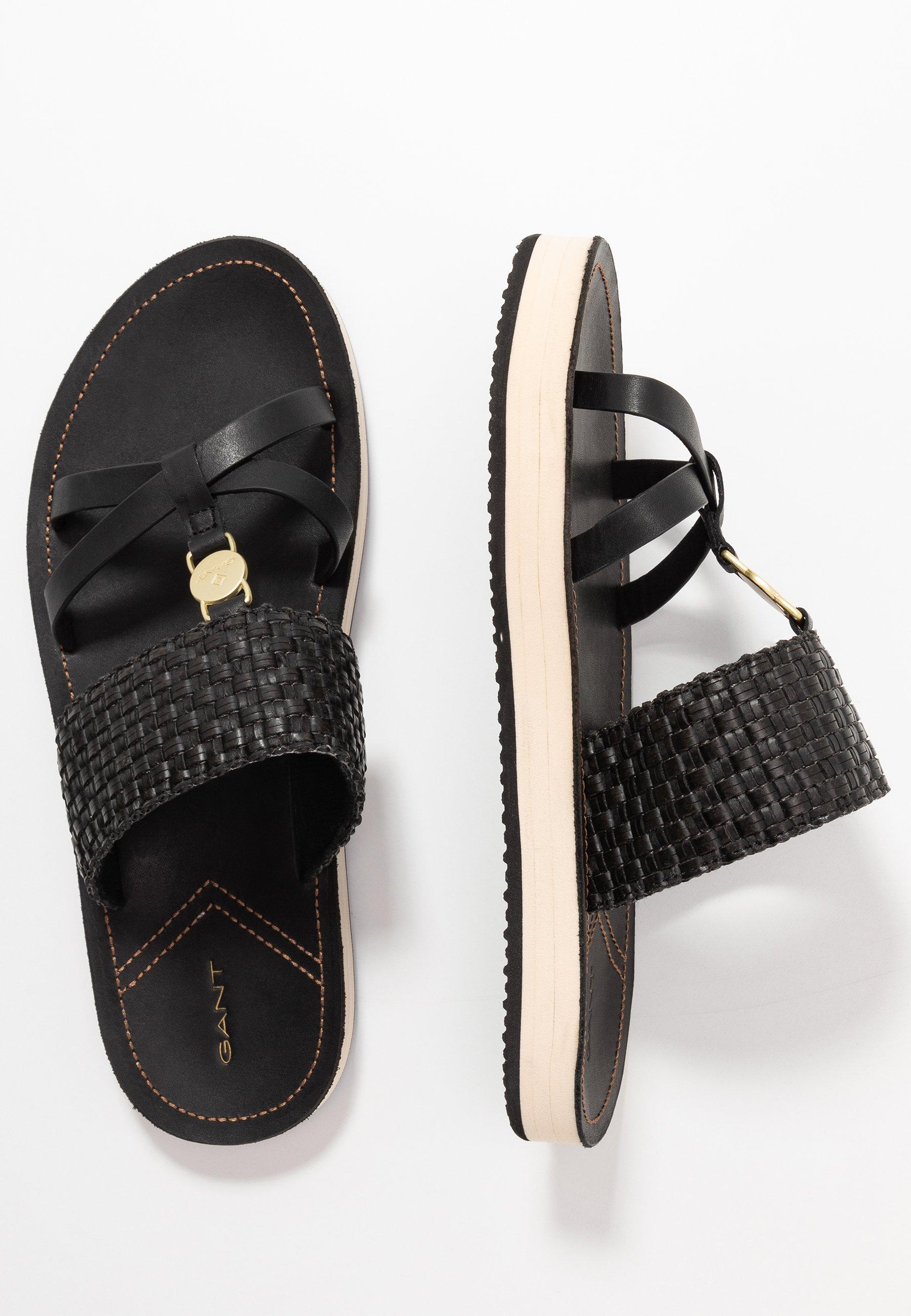 FLATVILLE Slip ins black